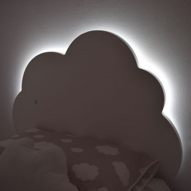 Cabecero infantil Nube con Luz