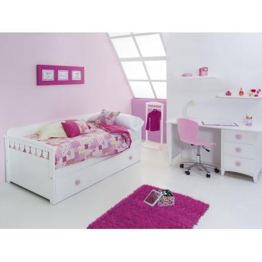 Dormitorio infantil Nido Corazones