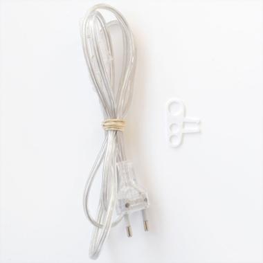 Cable interruptor enchufe 120 cm
