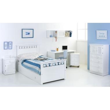 Dormitorio infantil Estrellas Cama Nido